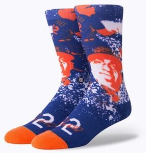 Rare Cespedes Mets Socks by Stance